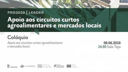 """""""Apoio aos Circuitos Agroalimentares e Mercados Locais"""" em Colóquio na Feira Nacional de Agricultura"""